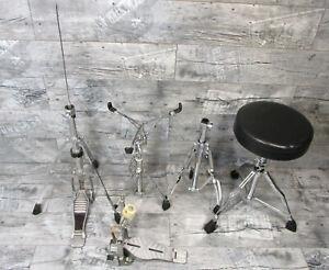 Konvolut Hardware Pearl Tama Yamaha Millenium Bastler defekt Ständer Schlagzeug