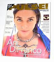 Pulse Magazine September 1996 Issue~Ani DiFranco~Plunge~Pere Ubu~Gibby Haynes