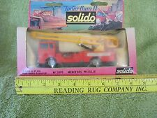 1974 Diecast Solido REPORTAGE TELEVISE Mercedes Nacelle #3105