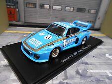 PORSCHE 935 Turbo RSR 911 Winner Macau 1979 #17 Zeiss Adamczyk GMR Spark 1:43