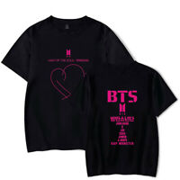 Kpop BTS Bangtan MAP.OF THE SOUL:PERSONA Round Neck Short Sleeve T-shirt 05034