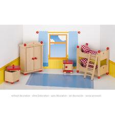 Goki Puppenhaus Möbel Kinderzimmer 5-teilig