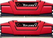 G.Skill RipJaws V rot DIMM Kit 16GB DDR4-3600 CL19-20-20-40 (F4-3600C19D-16GVRB)