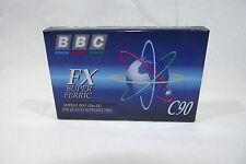 Cassette Audio Vierge NEUVE BBC FX Super Ferric C90 Normal Bias 120us EQ k7