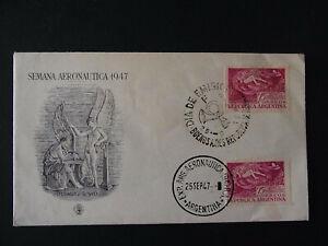 Erstagsbrief Argentinien Semana Aeronautica 1947 - b6974