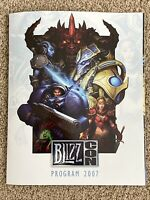 NEW MINT Blizzcon 2007 Convention Program Guide