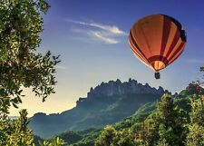 Hot Air Balloon Nature Landscape HD POSTER