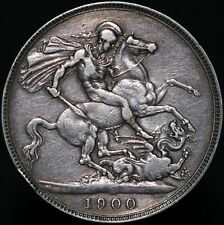 More details for 1900 | victoria crown 'lxiv' | silver | coins | km coins