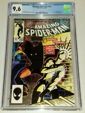 AMAZING SPIDERMAN #256 CGC 9.6 WHITE PAGES MARVEL 1ST APPEARANCE PUMA (B) (SA)