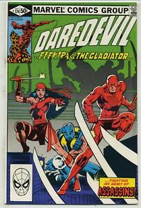 Daredevil 174 First The Hand First Full Elektra Cover High Grade