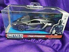 Marvel Avengers Lykan Hypersport Jada Metals Diecast 1:32 Scale Ages 8 & Up New
