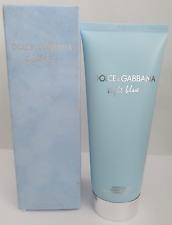used dolce & gabanna light blue 200ml body cream