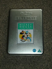 MICKEY MOUSE IN LIVING COLOUR VOL 2  DISNEY TREASURES TIN CASE DVD (FREE UK P&P)