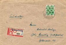 Echte BPP-Signatur Briefmarken aus Deutschland (ab 1945) mit Einzelfrankatur