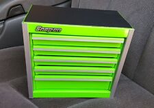 Snap-On Tool Box Miniature  Roll Cabinet In EXTREME GREEN NIB