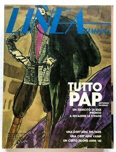 Linea Italiana n 94 ottobre 1978 Rivista moda Pret a porter Pellicce Guanti raro