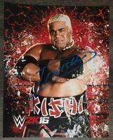 RIKISHI AUTOGRAPHED SIGNED WRESTLING PHOTO 8X10 WWE WWF