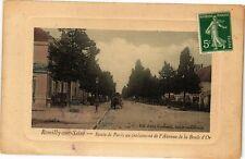 CPA ROMILLY-SUR-SEINE - Route de Paris (179391)