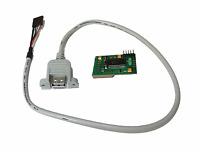 Neu Amiga Sum 1200 Echt USB Hid Tastatur Interface Adapter - Verkabelt WLAN #562