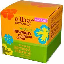 Alba Botanica  Hawaiian Moisture Cream  Jasmine   Vitamin E  3 oz  85 g
