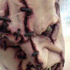 "Halloween - Full Overhead and Neck ""Stitches"" Latex Horror Mask"