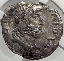 NERO  Alexandria Egypt ZEUS OLYMPIOS Silver Tetradrachm Roman Coin NGC i61982