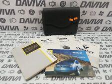 2000 Renault Espace RHD UK Owner's Owner Manual Handbook Wallet Service Booklets