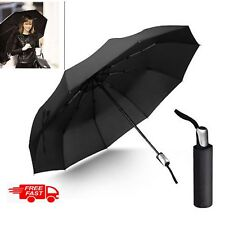 MINI COMPACT UMBRELLA AUTOMATIC FOLDING WINDPROOF STRONG TRAVEL FOR MENS LADIES