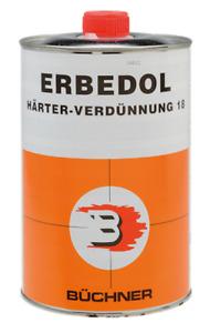 Büchner Erbedol Härter Verdünnung Lackverdünnung 1ltr / 18,10€/ltr.