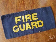 British, Armlet, CD, Original WW2 Home front FIRE GUARD armband  ARP version