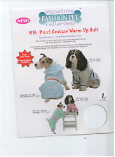 "Dog sweater Jogging Suit Size Large fits 18""-20"""