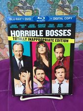 Horrible Bosses [Blu-ray/DVD Combo Disc] Totally Inappropriate Edition VG+ Slip
