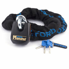 Oxford Security Monster Motorcycle Thatcham Chain Lock 2.0m & Padlock