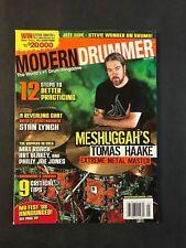 Modern Drummer Magazine May 2008 Tomas Haake of Meshuggah