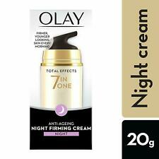 Olay Total Effect 7 in 1 Anti Ageing Night Firming Cream For Oil Free Skin , 20g