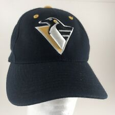 Vintage Pittsburgh Penguins Snapback Baseball Hat Pigeon Logo Puma  Adjustable d7f6c92635ae