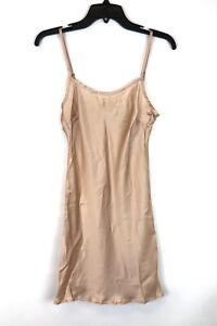 Trina Turk, Women's Spaghetti Strap Nude Pullover Slip, Size 2