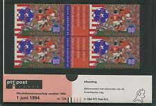 NIEDERLANDE 1994 PRESENTATION PACK ORANJE FUßBALL FOOTBALL SOCCER FUTBOL h1426