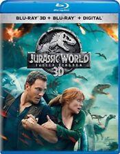 Jurassic World: Fallen Kingdom 3D 3D (used) Blu-ray Only Disc Please Read