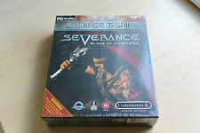 BIG BOX SEVERANCE BLADE OF DARKNESS Ltd Edition avec freetshirt PC CD Neuf Seald