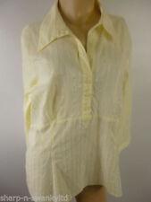 Camicia da donna maniche a 3/4 gialli