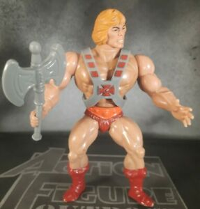 HE-MAN 1982 Masters Universe TAIWAN COO Action Figure Toy Armor & Battle Ax MOTU