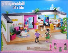 PLAYMOBIL 5586 Gäste-Bungalow Einrichtung Bad Wohnzimmer 2 Figuren zu 5574 NEU