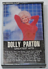 Dolly Parton Greatest Hits RCA AHK1-4422 9 To 5 Two Doors Down Cassette Tape