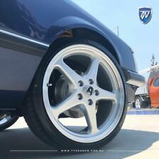 """20"""" Holden Walkinshaw Wheels Silver Walky Aftermarket Rims Staggered Commodore"""