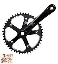 ORIGIN8  TRACK  SINGLE SPEED 165MM--46T BLACK BICYCLE CRANK SET