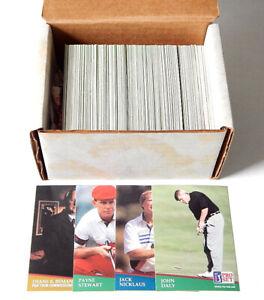 1991 Pro Set PGA Golf Complete Set (286) Nm/Mt Daly Stewart Nicklaus Beman