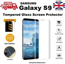 New Full Ultra Thin Clear 3D Tempered Glass Screen Protector For Galaxy S9