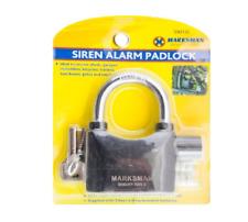 Sensor De Movimiento Alarma Candado Cobertizo Garaje alarma de bloqueo de sirena inalámbrica de alta resistencia