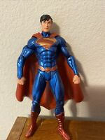 "DC Collectibles Comics The New 52 Trinity War 7"" Metallic Superman Action Figure"